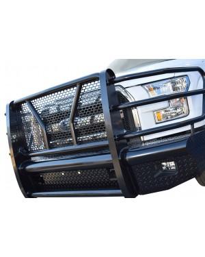 Steel front high-definition bumper