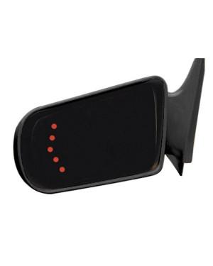 Street view alarm signal mirror